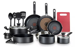 17 Piece Cookware Set With Pre Heat Indicator For Perfect Holiday Cooking