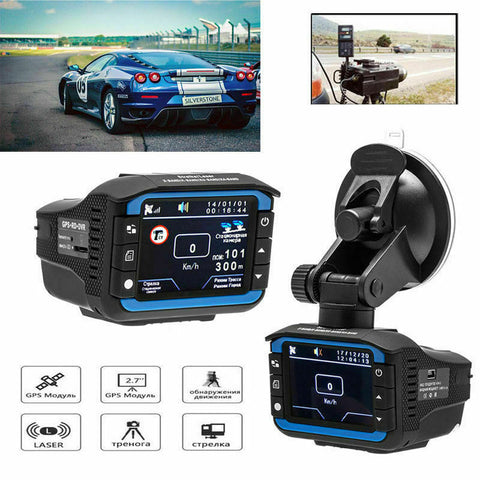 i2000 Anti Radar Laser Detector Dash Camera
