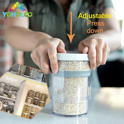 Adjustable Food Vacuum Container