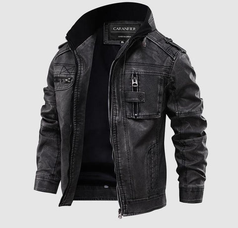 Benvolio Men Leather Jacket