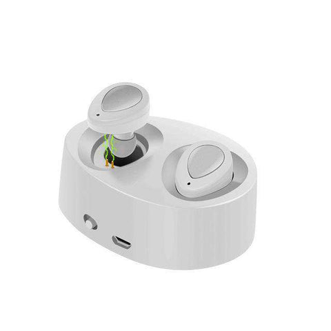 Best Bluetooth Wireless Earbuds Mini Stereo Music Headsets Hands-free With Mic Charging Box