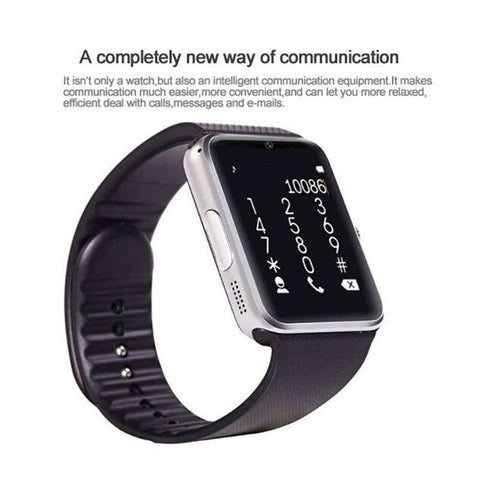 Best IPhone Style Smart Watch For IPhone / Samsung And Android Phones