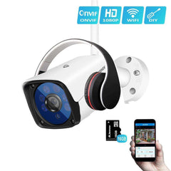Best Outdoor WIFI Security Camera + IR Night Vision