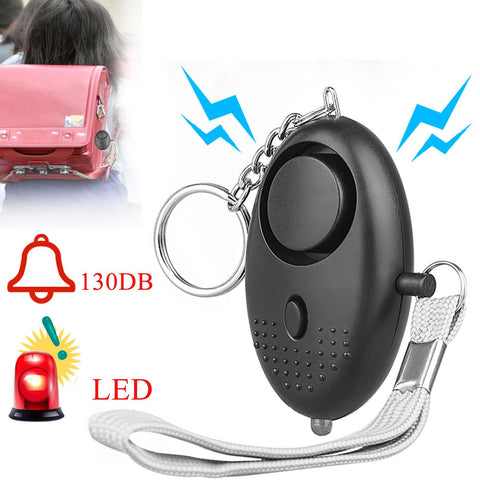 Best Personal Alarm Keychain (Emergency/Self Defense/Safety/Scare Of Intruder)