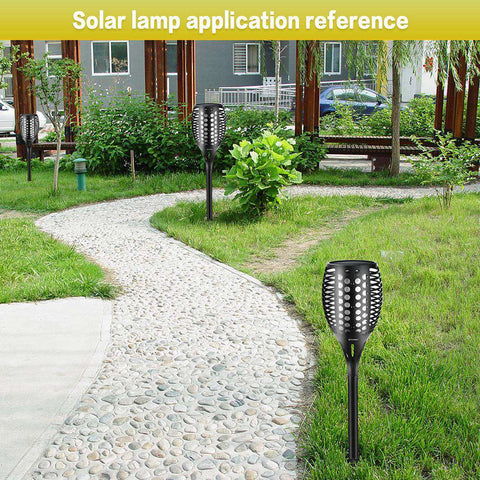 Best Solar LED Flame Lights