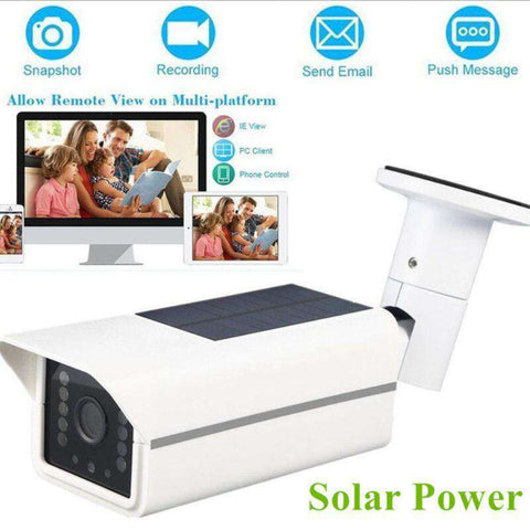 Best Solar Outdoor Security Camera With Night Vision