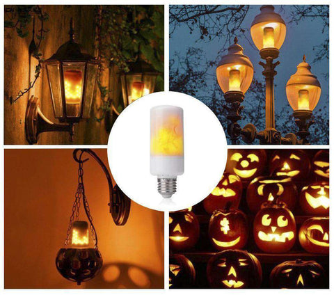 BOGO FREE Trending Flame Light Bulbs - Energy Saving Bulb (Normal Light + Flame Mode)
