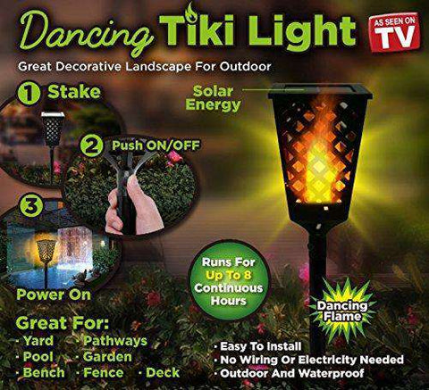 Dancing Tiki Light