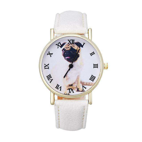Fashion Pug Watch