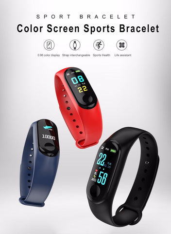 Fitness Activity Tracker Bracelet/Watch For Women/Men
