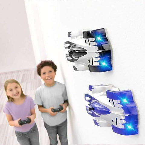 G-Force Racers (anti-gravity RC Cars-wall & Floor Modes-Wall Climbing Car Remote Control Ceiling Racing Car Electric Toys Machine Auto RC Car For Kid Toy Gift)