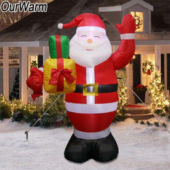 Giant Inflatable Christmas Santa Claus