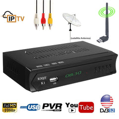 Home - Best 1080P HD Digital Satellite Receiver (No More Satellite TV Bills - Get Free To Air Broadcasts)