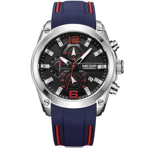 Megir Men's Chronograph Analog Quartz Watch