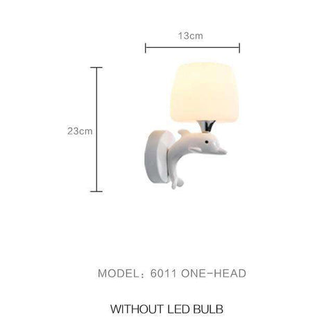 Modern Wall Lamp (Perfect For Flame Light Bulbs)