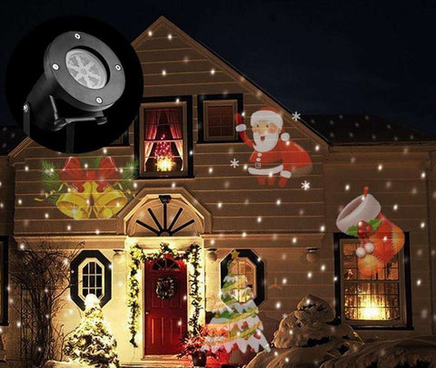 Multi Scene Laser Projector For Halloween Christmas Holidays - Parties