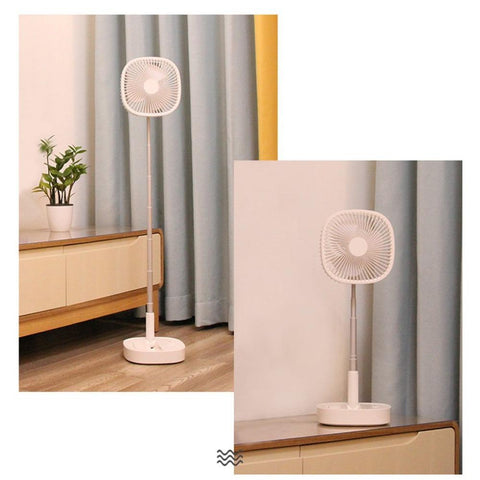 PortaFan (Portable USB Cordless Rechargeable Fan Air Cooler Indoor Outdoor)