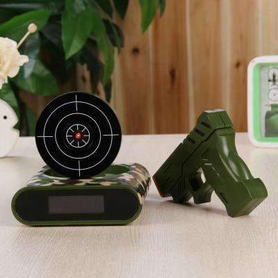 Shooting Gun Alarm Clock