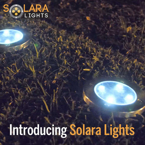 SOLARA LIGHTS - World's Best Solar Powered Light