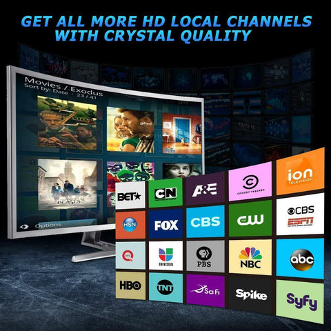TV HD Extreme (No More Cable/Satellite TV Bills)