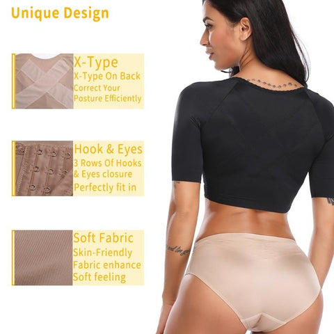 Women - Curvacious Arm/Back Slimming Shaper