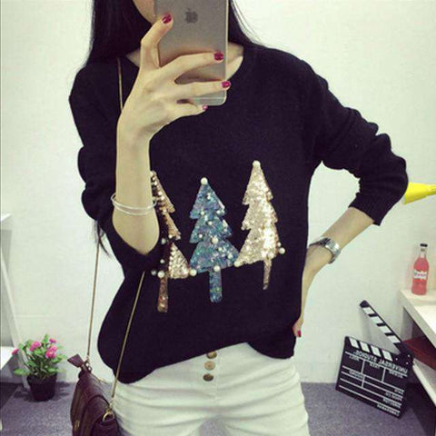 Women's Fashion Ugly Christmas Sweater
