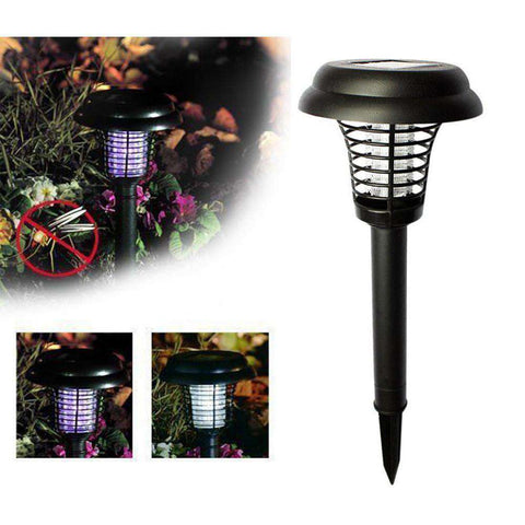 World's 1st Solar Mosquito Zapper