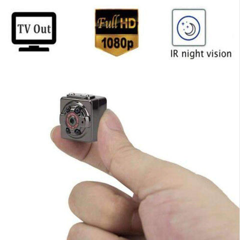 World's Best 1080P Mini Cop Camera Offer - Doorstep Cam - Security Cam - Body Cam - Dash Cam - Nanny Cam + Night Vision