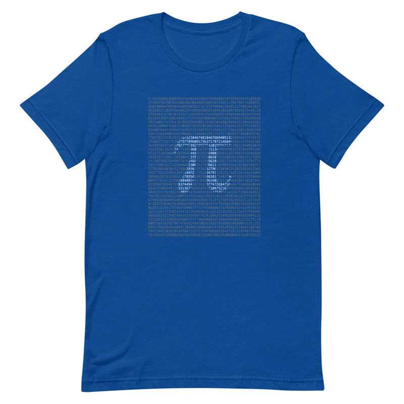 The Digits of Pi Crew-Neck T-Shirt
