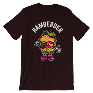 Hamberder Oxblood Black short sleeve T-Shirt College Football GiftsForTheGeeks.com Clemson Tigers White House