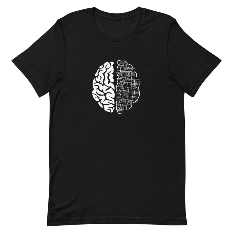Electric Brain Short-Sleeve Unisex T-Shirt
