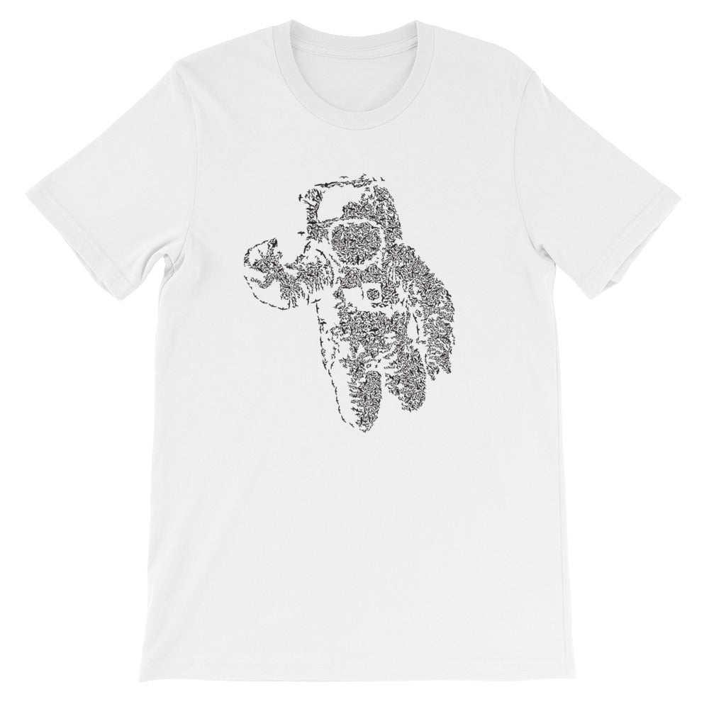 Flying Astronaut Short-Sleeve Graphic T-Shirt Gifts for the Geeks www.GiftsForTheGeeks.com Music Movies Games Marvel DC Comics Disney Gadgets  graphic, novelty, Sold Out, t-shirt Gifts for the Geeks www.GiftsForTheGeeks.com Music Movies Games Marvel DC Comics Disney Gadgets