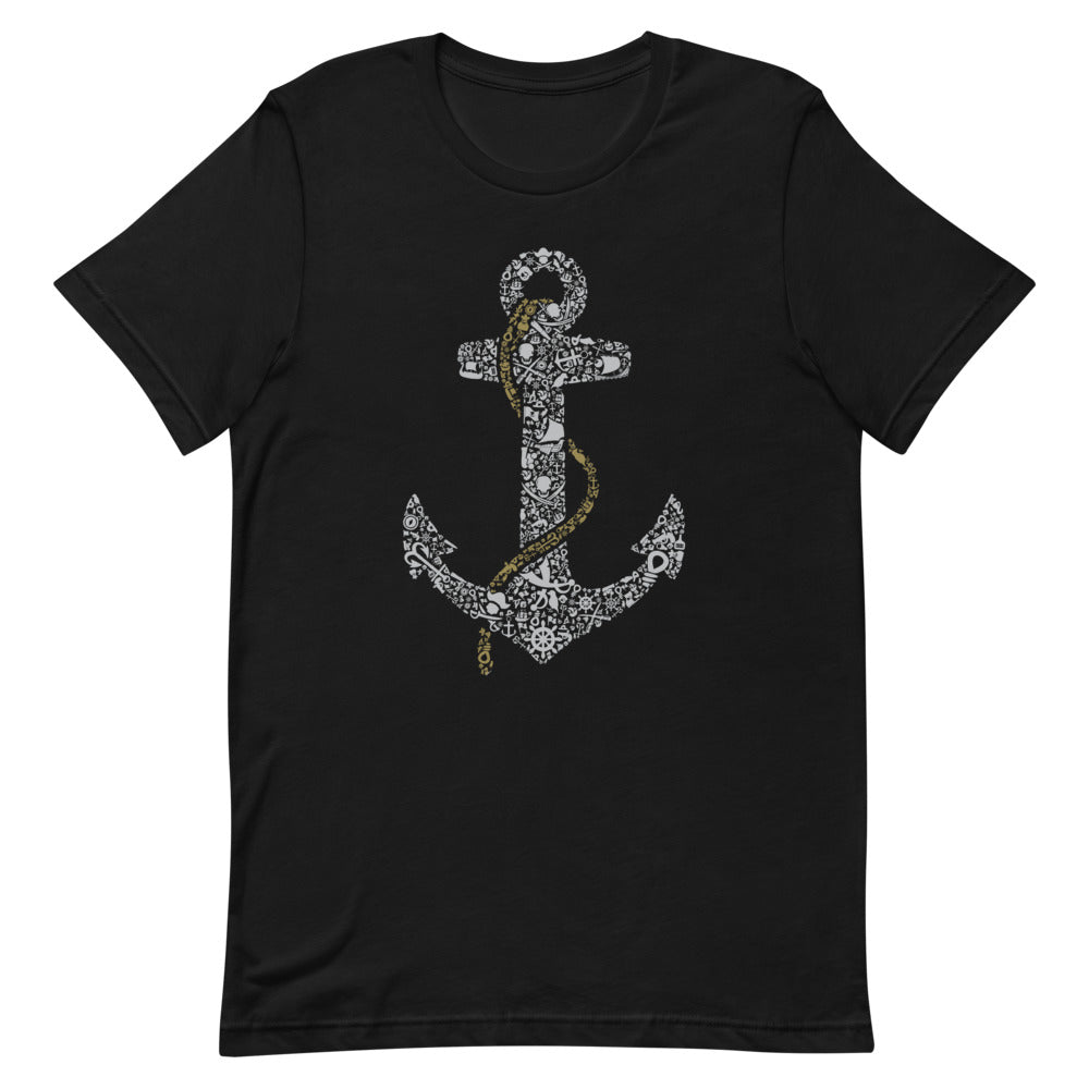 Sailor Anchor Sleeve Unisex T-Shirt