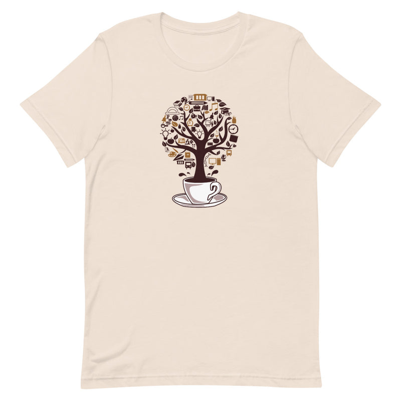 Coffee Tree Short-Sleeve Women's T-Shirt