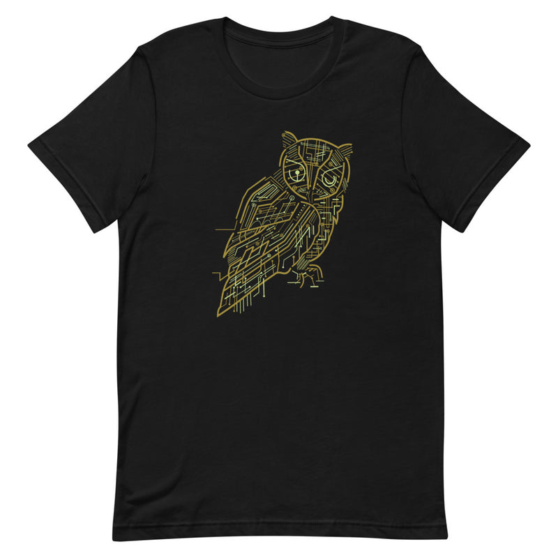 Electric Owl Short-Sleeve Unisex T-Shirt
