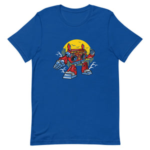 Boombox Robot Short-Sleeve T-Shirt