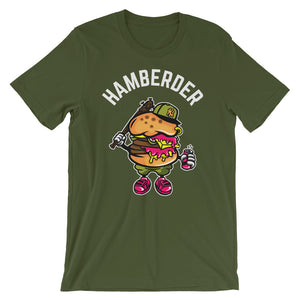 Hamberder Olive short sleeve T-Shirt College Football GiftsForTheGeeks.com Clemson Tigers White House