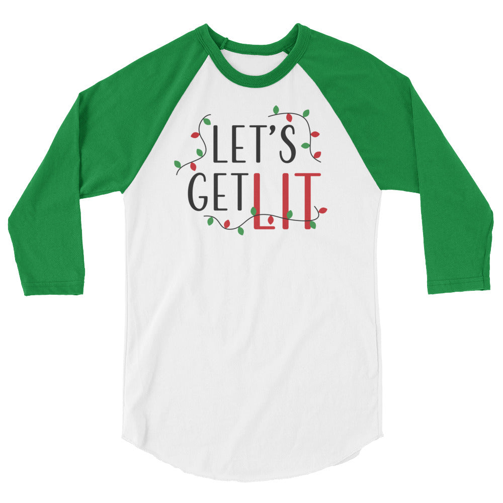Let's Get Lit Holiday Shirt