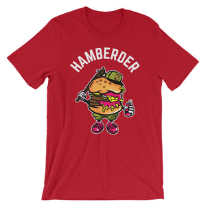 Hamberder Red short sleeve T-Shirt College Football GiftsForTheGeeks.com Clemson Tigers White House