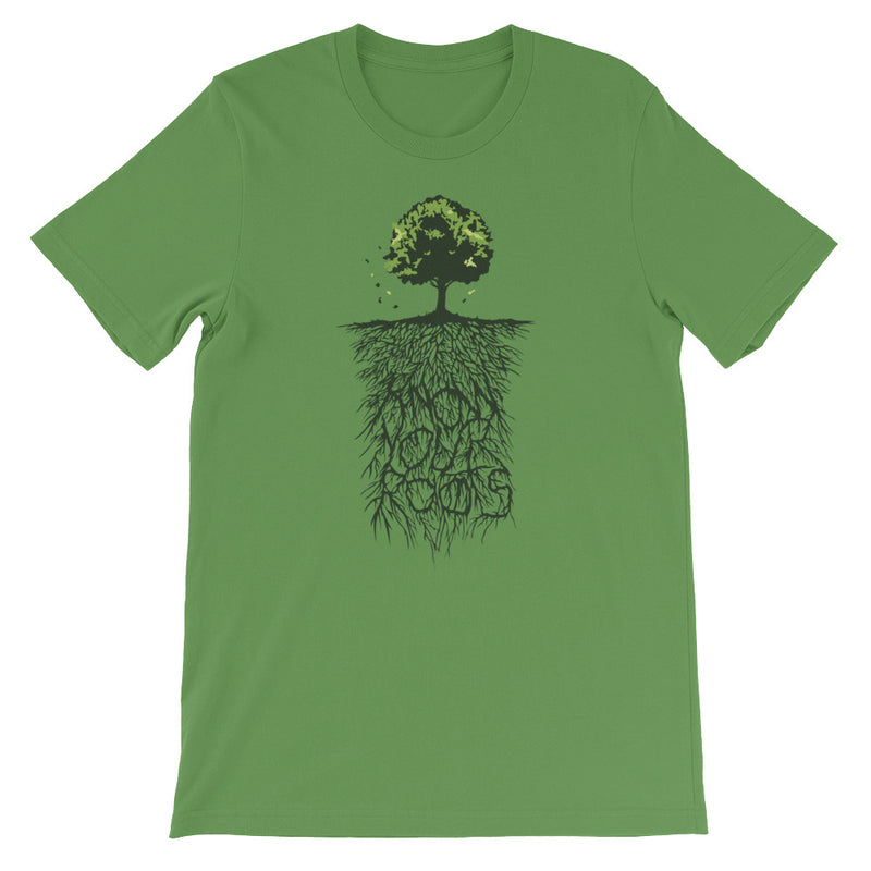 Know Your Roots Short-Sleeve Unisex T-Shirt Gifts for the Geeks www.GiftsForTheGeeks.com Music Movies Games Marvel DC Comics Disney Gadgets  graphic, Sold Out, t-shirt, tee Gifts for the Geeks www.GiftsForTheGeeks.com Music Movies Games Marvel DC Comics Disney Gadgets