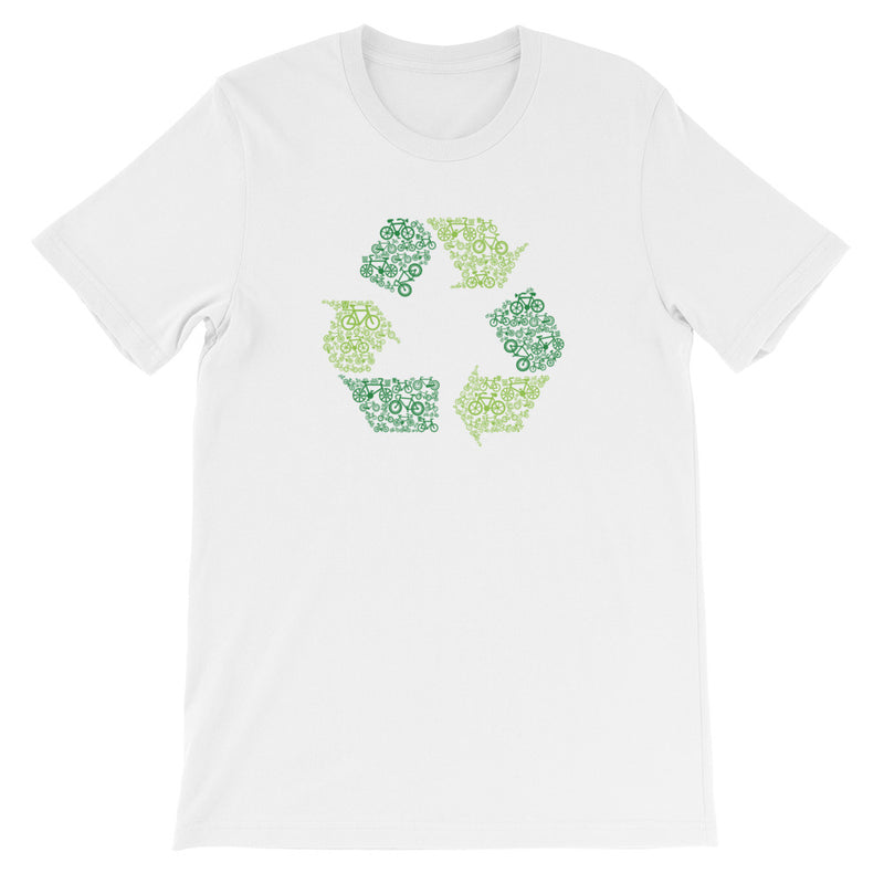Recycle Short-Sleeve Unisex T-Shirt Gifts for the Geeks www.GiftsForTheGeeks.com Music Movies Games Marvel DC Comics Disney Gadgets  graphic, Sold Out, t-shirt, tee Gifts for the Geeks www.GiftsForTheGeeks.com Music Movies Games Marvel DC Comics Disney Gadgets