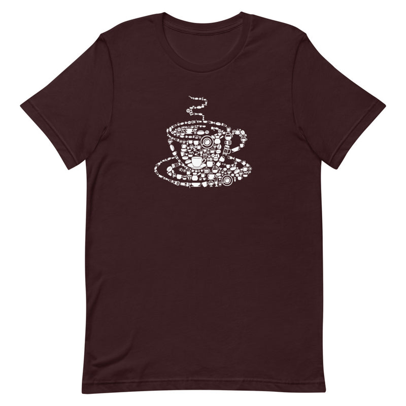 Coffee Lovers Short-Sleeve Unisex T-Shirt