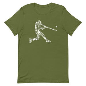 Baseball Player Design Tee