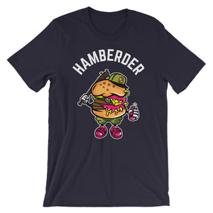 Hamberder Navy short sleeve T-Shirt College Football GiftsForTheGeeks.com Clemson Tigers White House