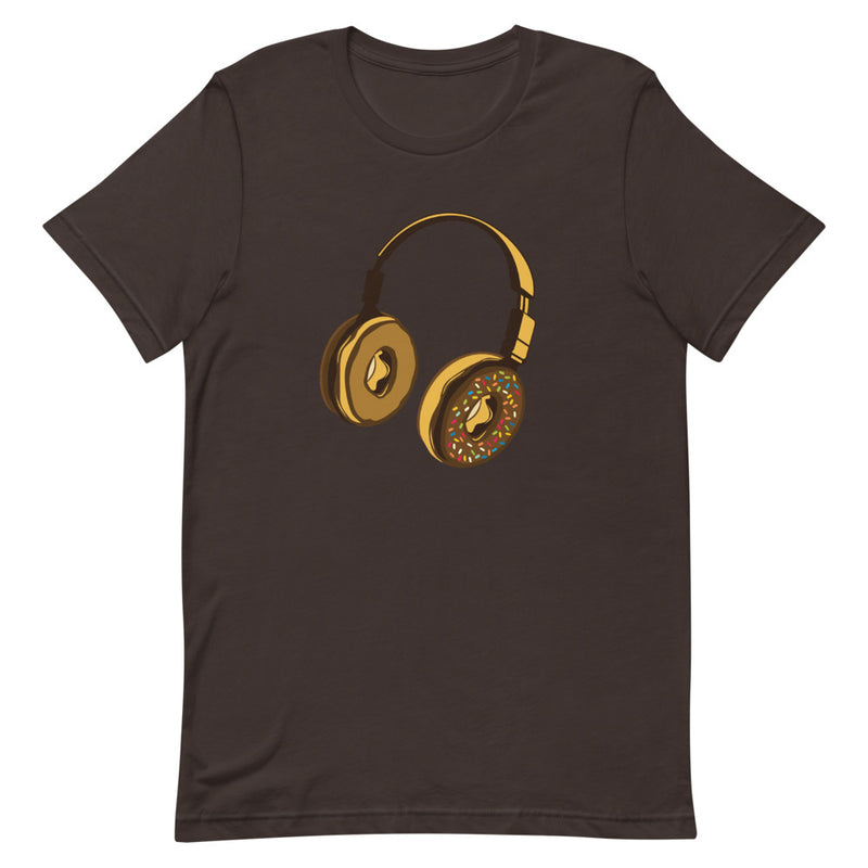 Donut Headphones T-Shirt