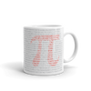 The Digits of Pi Coffee Mug Gifts for the Geeks www.GiftsForTheGeeks.com Official Merchandise Marvel DC Comics GIfts For The Geeks Coffee Mug Coding, Coffee Mug, Color_Red, Color_White, Machine Learning, Math, Pi, Programming, Red, Supergeek, Type_Coffee Mug, White