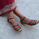 Gulabo Ankle Tie Shoes