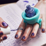Stylish wearable nail polish holder gifts for her
