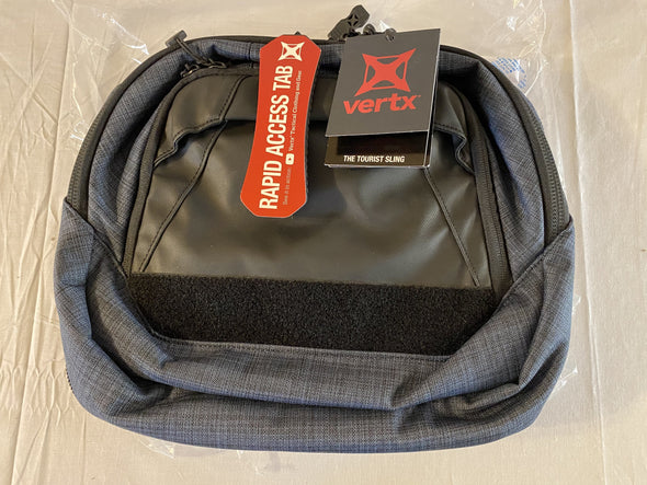 Vertx Tourist Sling - Heather/Navy