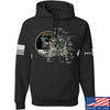 IV8888 Apollo Lunar Tech Hoodie Hoodies Small / Black by Ballistic Ink - Made in America USA